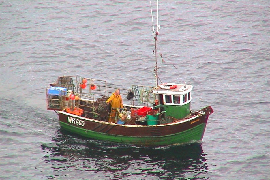 Fishing boat, Scotland