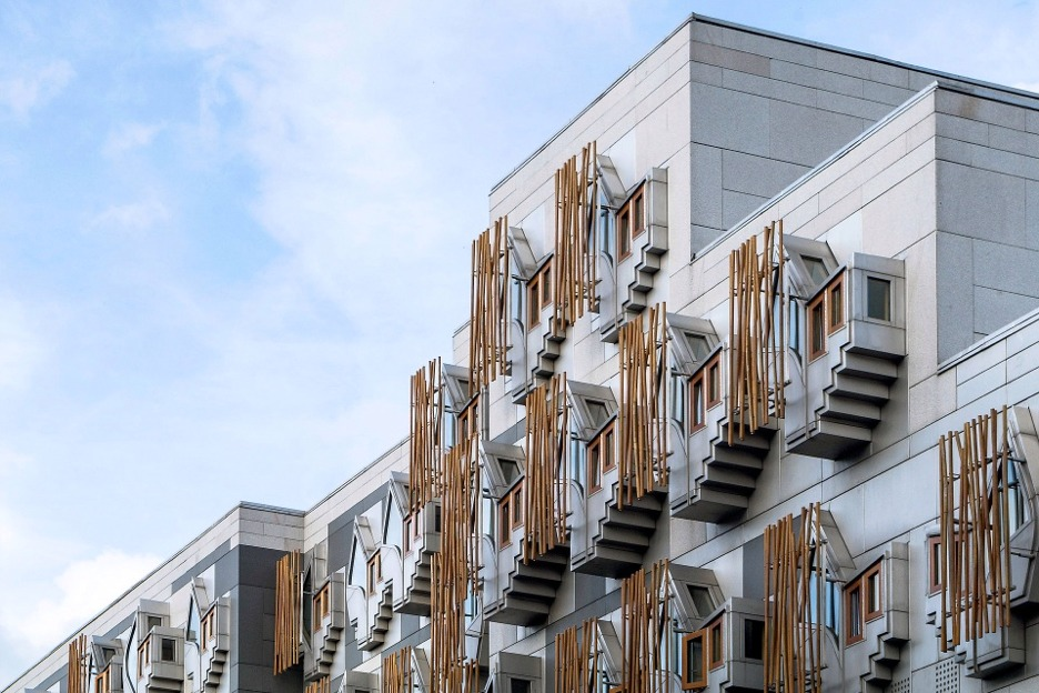 Scottish Parliament Building, Edinburgh