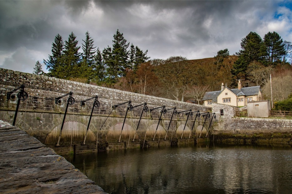 The Mound, Dornoch, Scotland