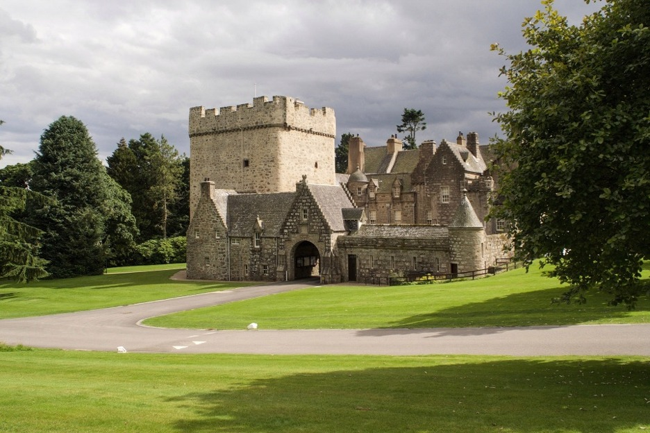 Drum Castle, Aberdeen, Scotland