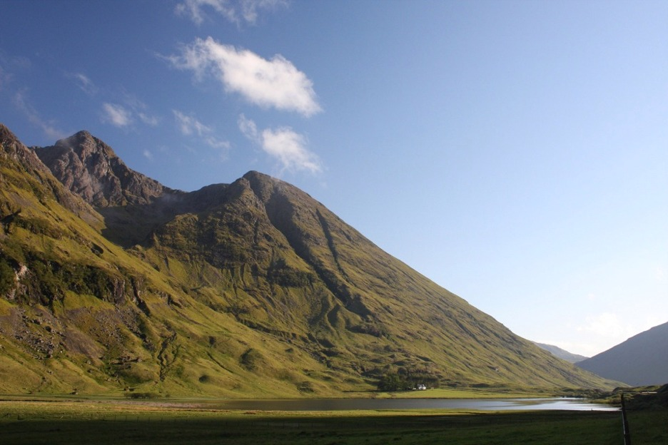 Cottage, Glencoe, Scotland
