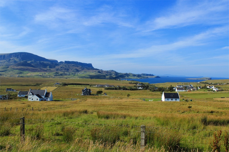 Crofts on Isle of Skye, Scotland