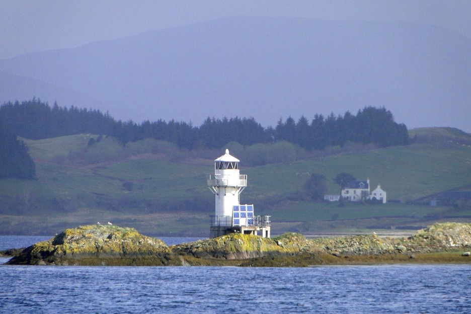 Hebrides lighthouse, Scotland