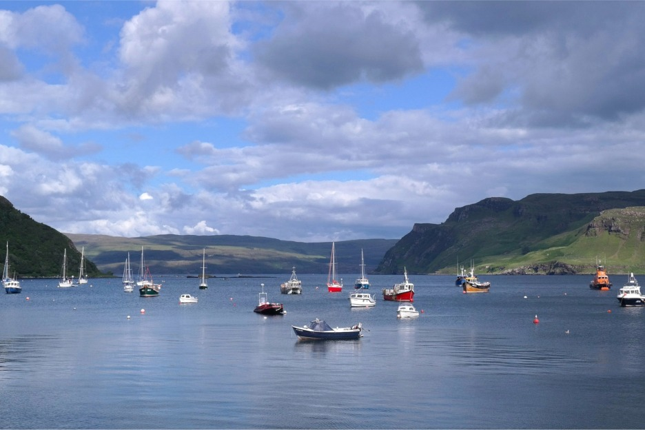 Moored boats, Portree, Isle of Skye