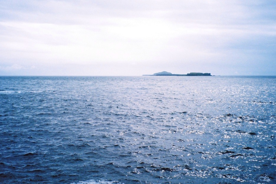 Treshnish Isles from the mainland