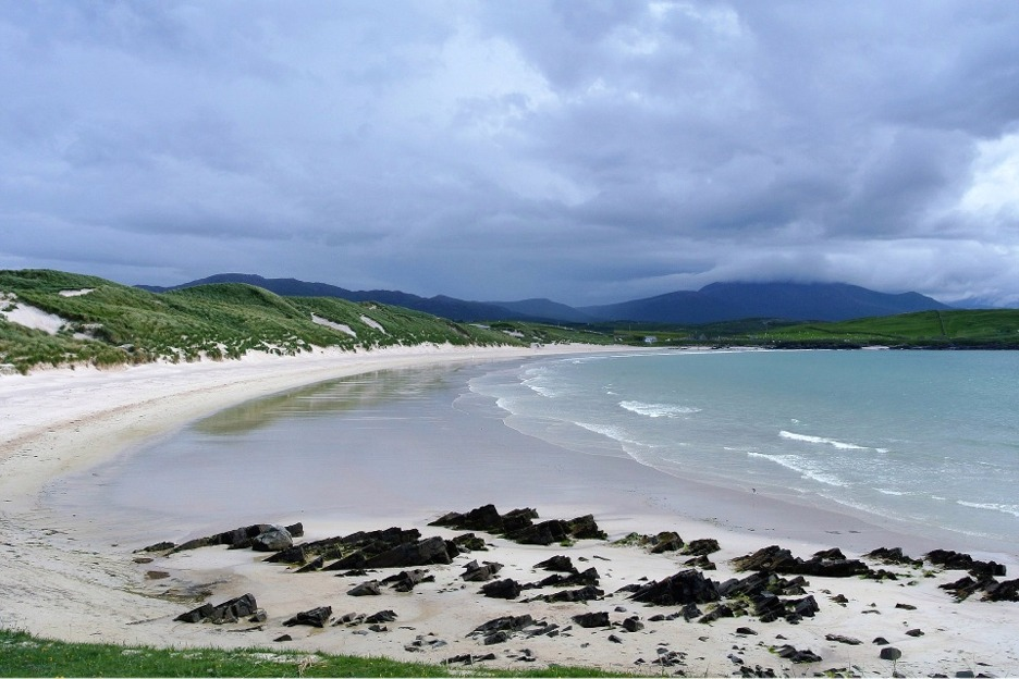 Beach in Sutherland, Scotland