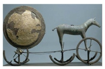 Trundholm bronze chariot of the sun